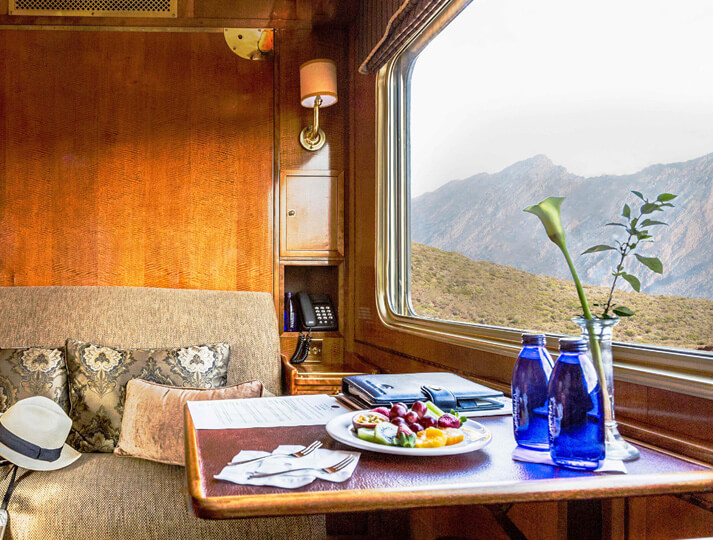 I'd like to take a luxury rail journey through Africa.