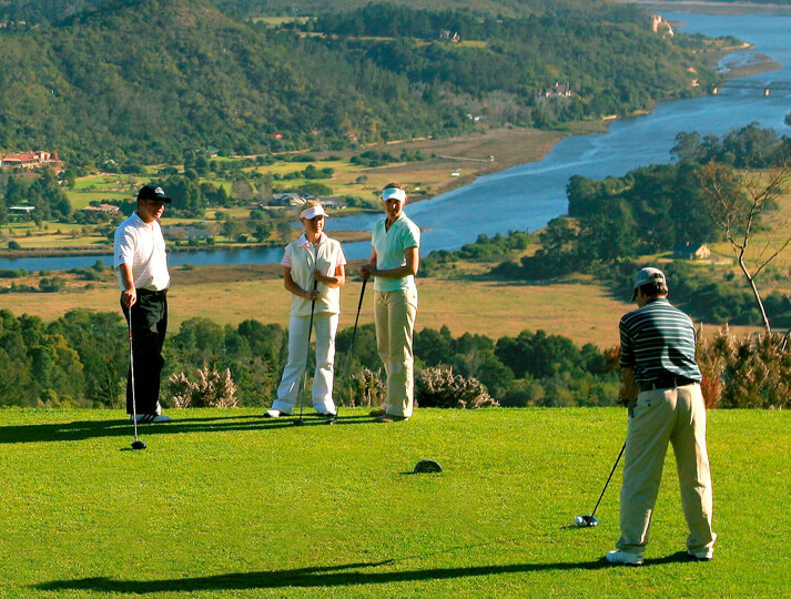 I'd like to play on Africa's finest golf courses.