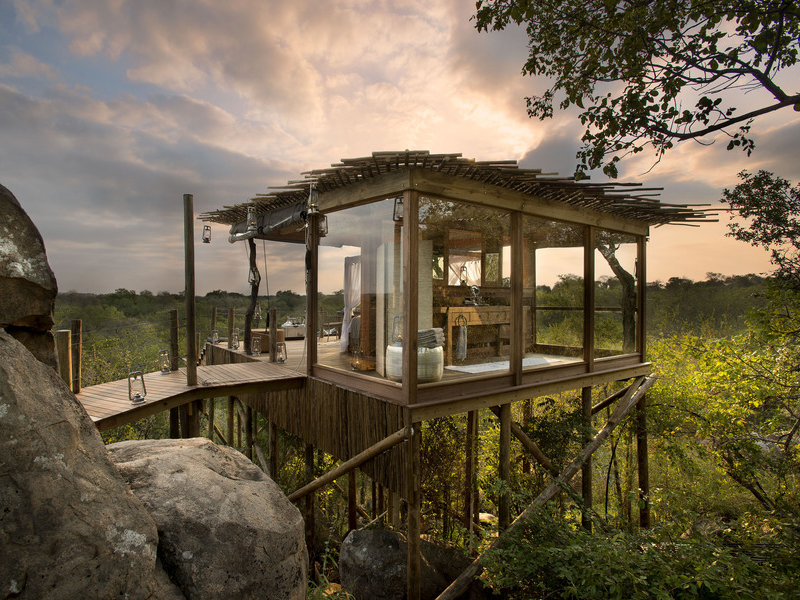 Pembury Tours - Lion Sands - Kingston Treehouse - Sabi Sands Game Reserve - Kruger National Park - Accommodation - Exterior