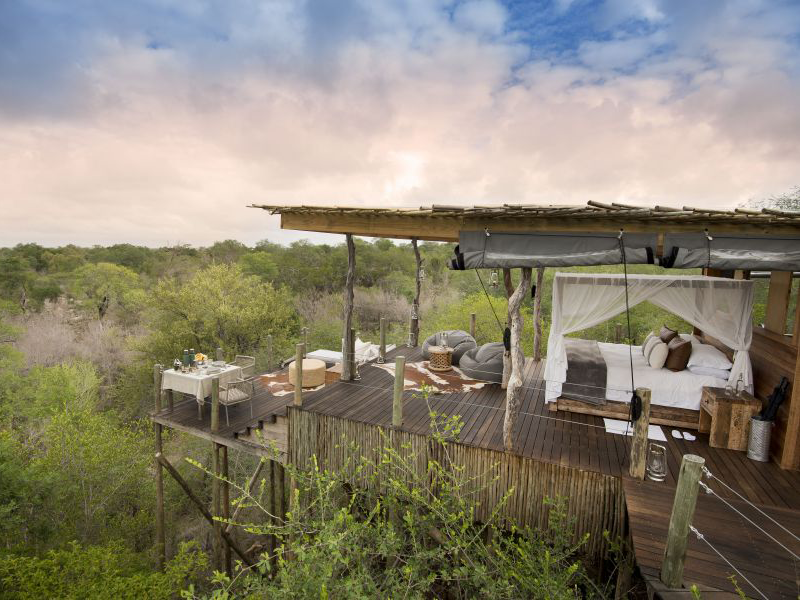 Pembury Tours - Lion Sands -Kingston Treehouse - Sabi Sands Game Reserve - Kruger National Park - Accommodation - View
