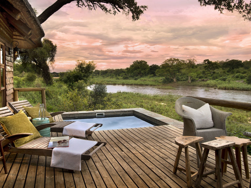 Pembury Tours - Kruger - Sabi Sands - Lion Sands River Lodge - Plunge Pool
