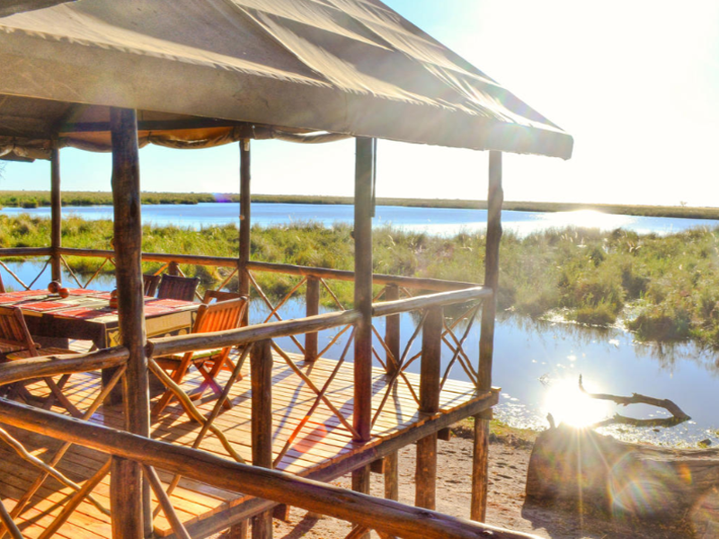 Pembury Tours - Camp Linyati - Chobe National Park - Botswana - Accommodation - Deck View