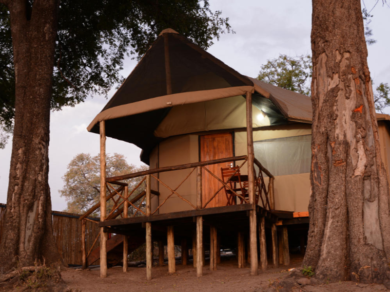 Pembury Tours - Camp Linyati - Chobe National Park - Botswana - Accommodation - Tent Exterior