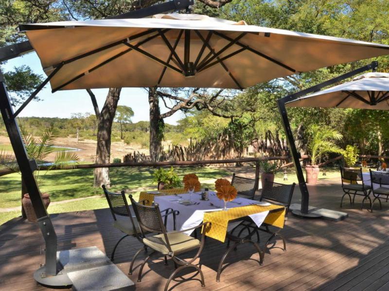 Pembury Tours - Elephant Valley Lodge - Chobe - Botswana - Accommodation - Outdoor Dining