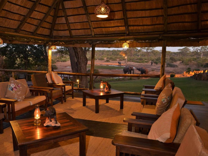 Pembury Tours - Elephant Valley Lodge - Chobe - Botswana - Accommodation - Outdoor Lounge