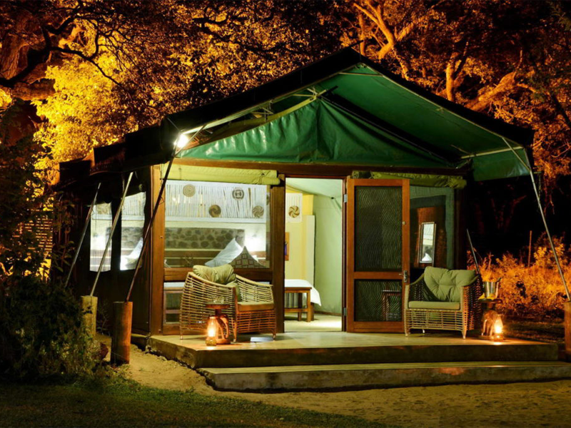 Pembury Tours - Elephant Valley Lodge - Chobe - Botswana - Accommodation - Tent Exterior
