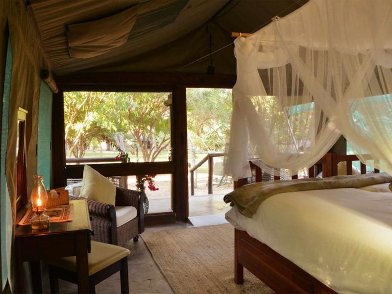 Pembury Tours - Elephant Valley Lodge - Chobe - Botswana - Accommodation - Tent Interior