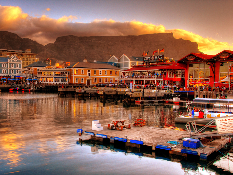 Pembury Tours - South Africa - Cape Town - V&A Waterfront - Sunset