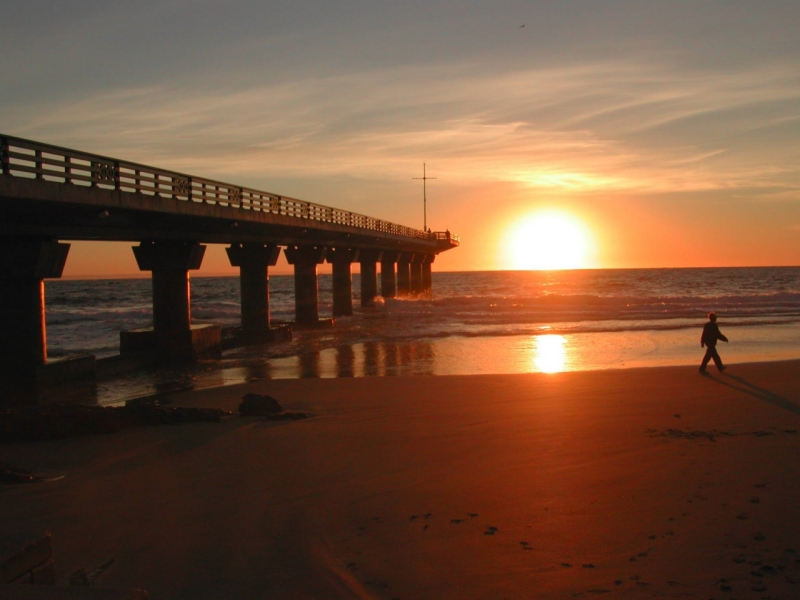 Pembury Tours - South Africa - Port Elizabeth - Hobie Beach - sunrise
