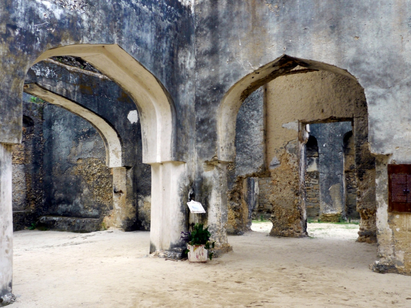 Pembury Tours - East Africa - Indian Ocean Islands - Zanzibar - Mtoni Palace Ruins