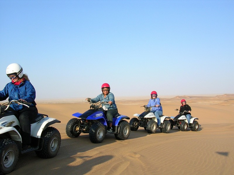 Pembury Tours - Swakopmund - Skeleton Coast - Namibia - ATV Beach Adventures