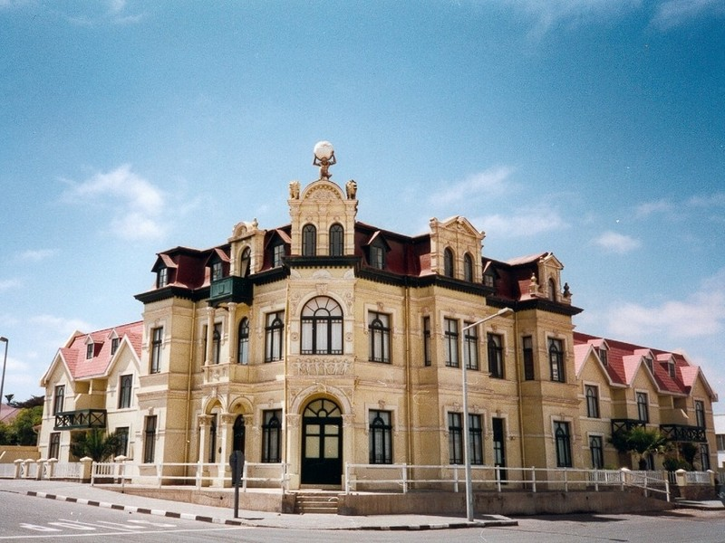 Pembury Tours - Historical Building - Swakopmund - Skeleton Coast - Namibia - City Tour