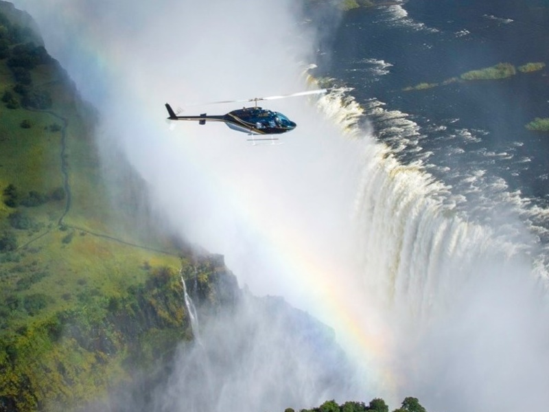 Pembury Tours - Victoria Falls - Adventure Activities - Helicopter over Falls - Flight of Angels
