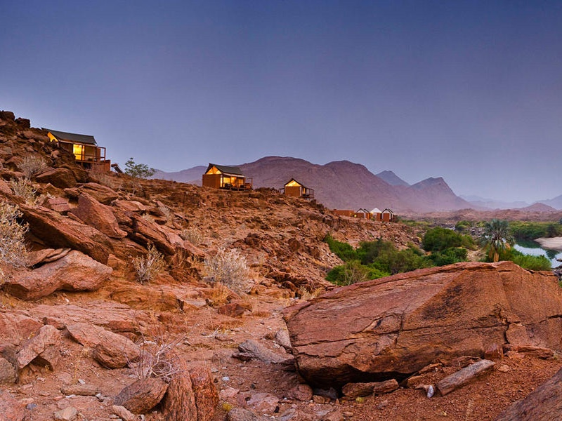 Pembury Tours - Okahirongo River Camp - Kaokoland - Namibia - Exterior View