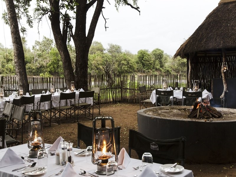 Pembury Tours - Simbavati River Lodge - Timbavati Game Reserve - Kruger National Park - Accommodation - Boma Dinner