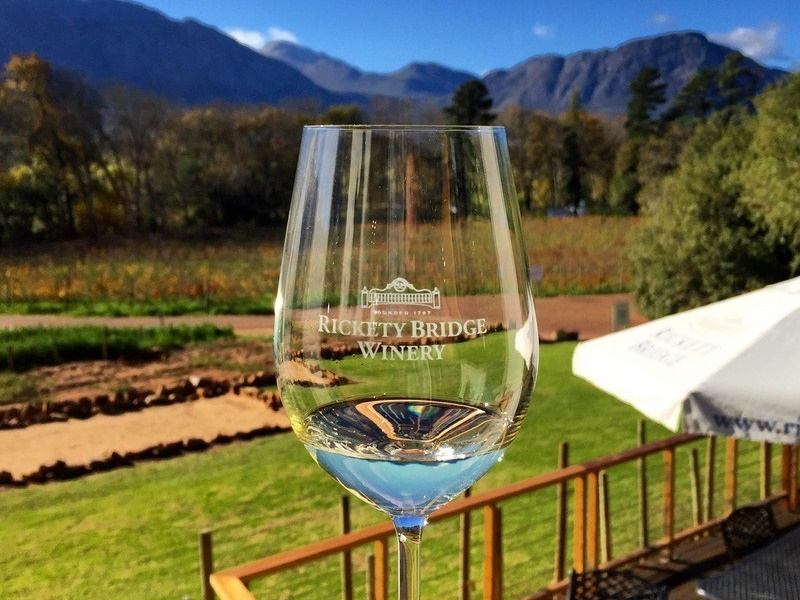 Pembury Tours - Franschhoek Wine Tram - Cape Winelands - Cape Town - Wine Tasting - Rickety Bridge Winery