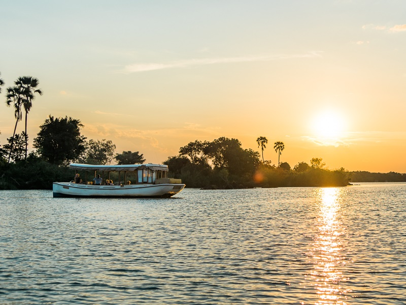 Pembury Tours - Ilala Lodge - Victoria Falls - Adventure Activities - Ra Ikane - River Boat Cruise 2