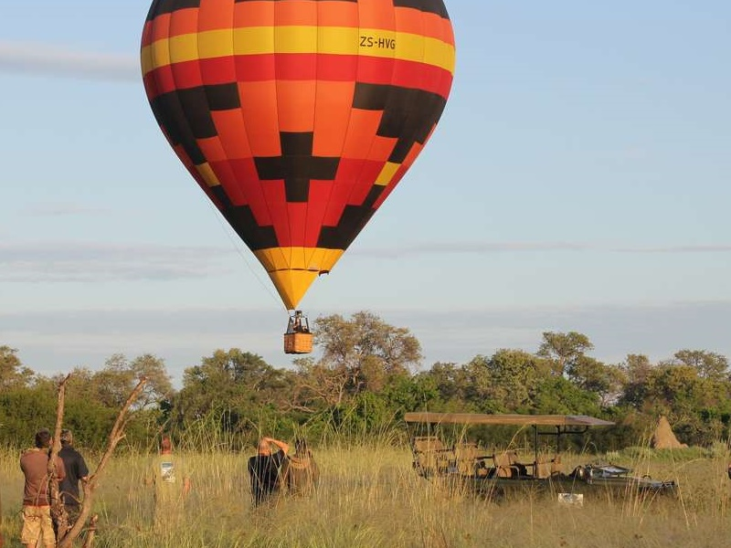 Pembury Tours - Kadizora Camp - Okavango Delta - Hot Air Balloon Safari