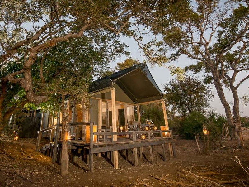 Pembury Tours - Simbavati River Lodge - Timbavati Game Reserve - Kruger National Park - Accommodation - Bedroom Tent Exterior