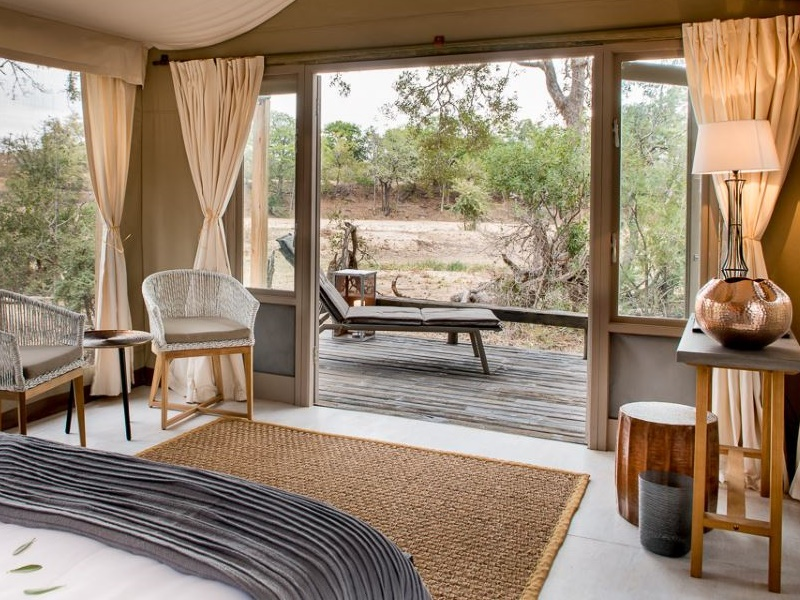 Pembury Tours - Simbavati River Lodge - Timbavati Game Reserve - Kruger National Park - Accommodation - Bedroom Tent 2