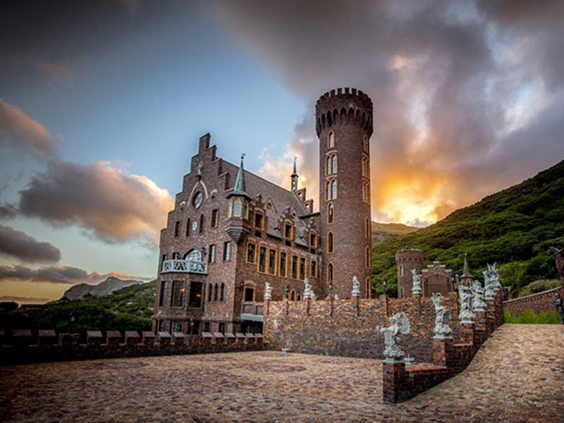 Pembury Tours - Full Day Cape Point Tour - Hout Bay - Cape Town - The Lichtenstein Castle Hout Bay