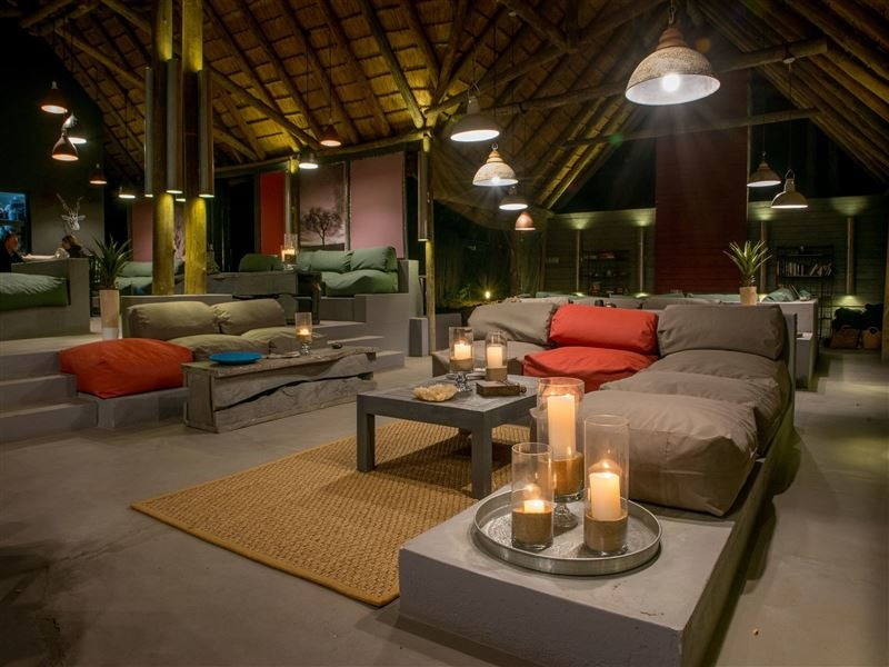 Pembury Tours - Simbavati River Lodge - Timbavati Game Reserve - Kruger National Park - Accommodation -Main Lodge