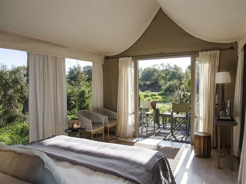 Pembury Tours - Simbavati River Lodge - Timbavati Game Reserve - Kruger National Park - Accommodation - Bedroom Tent 1