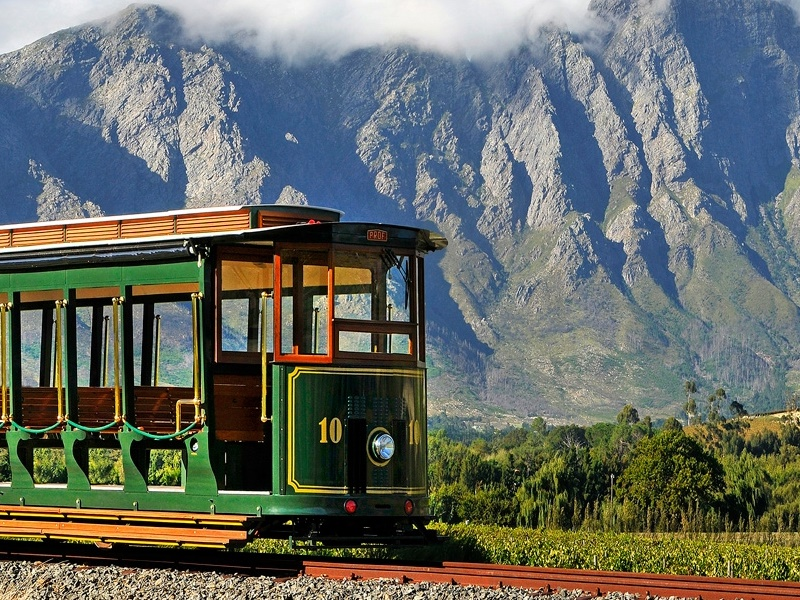 Pembury Tours - Franschhoek Wine Tram - Cape Winelands - Cape Town - Wine Tasting - Tram 1
