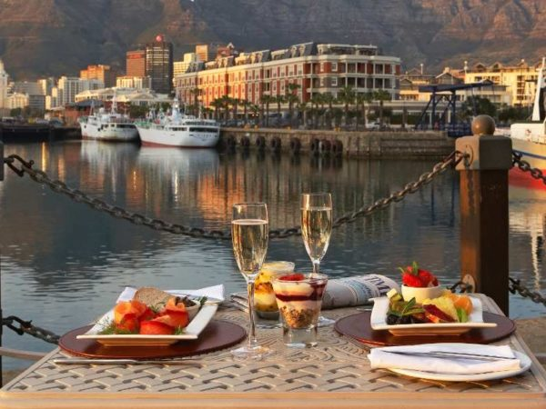 Pembury Tours - Victoria & Alfred Hotel - Cape Town - Luxury Accommodation - V & A Waterfront - Harbour Breakfast
