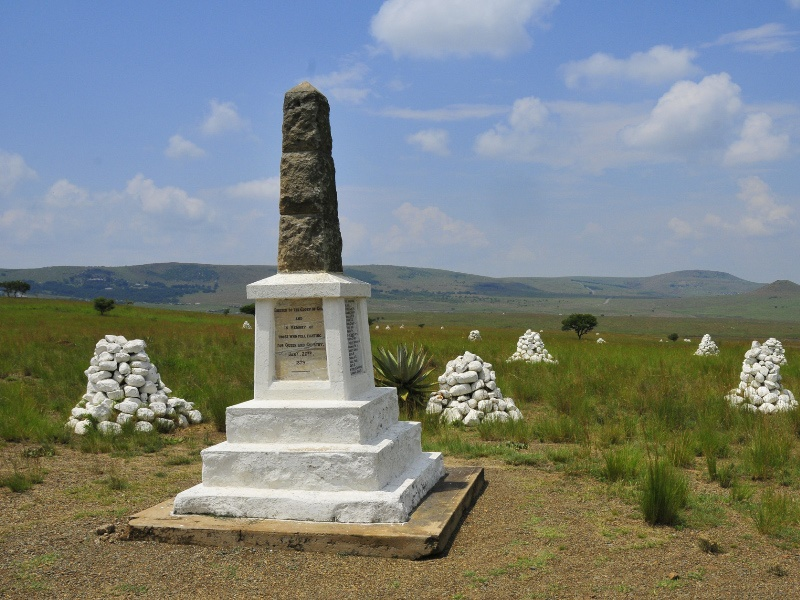 Pembury Tours - KwaZulu Natal Battlefield Tour - Isandlwana and Rorke's Drift Memorial - South African Historical Tour - War Memorial