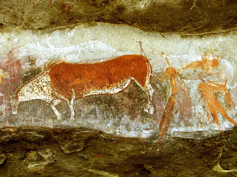 Pembury Tours - San Rock Art - Bushman Paintings - Drakensberg Adventure Activities - KwaZulu Natal