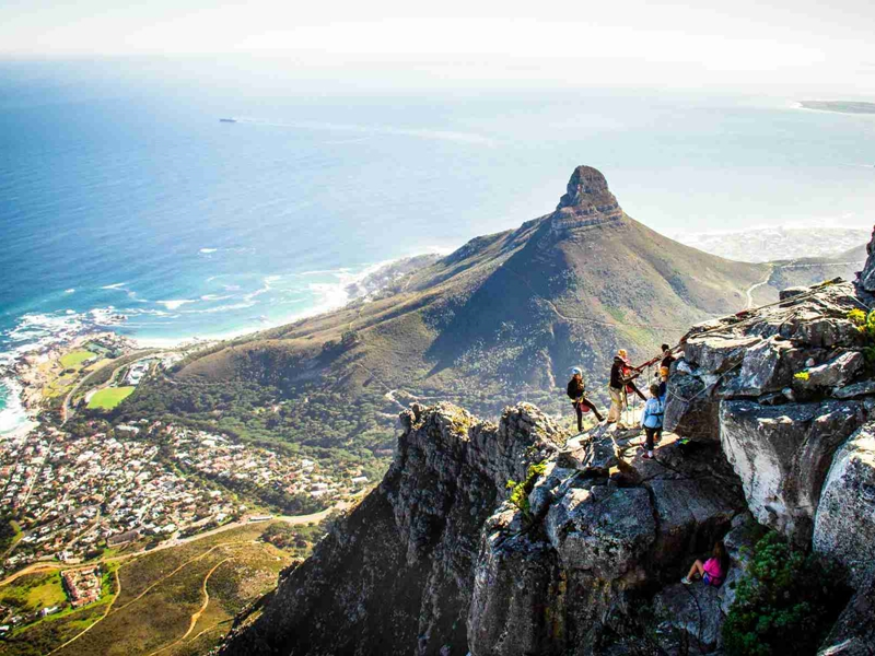 Pembury Tours - Cape Town Adventure Activities - Table Mountain - Abseiling