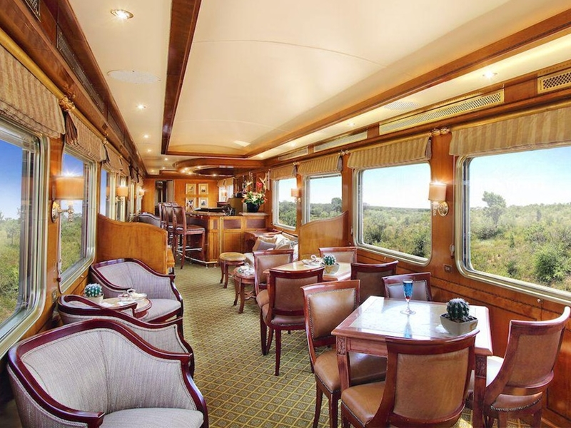 Pembury Tours - The Blue Train - Luxury Rail Accommodation - South African Train Route - Coach
