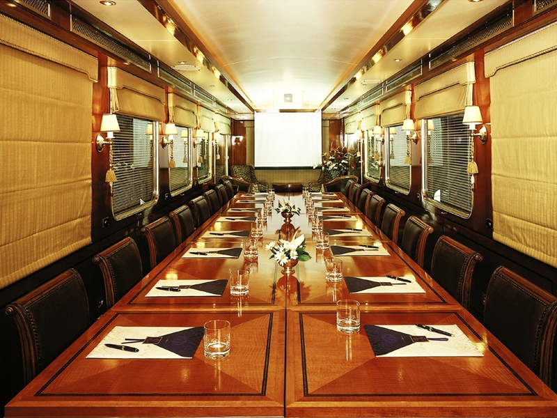 Pembury Tours - The Blue Train - Luxury Rail Accommodation - South African Train Route - Conference Car