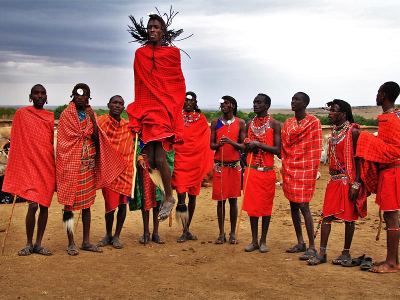 Pembury Tours - Kenya - Maasai - Jumping Dance