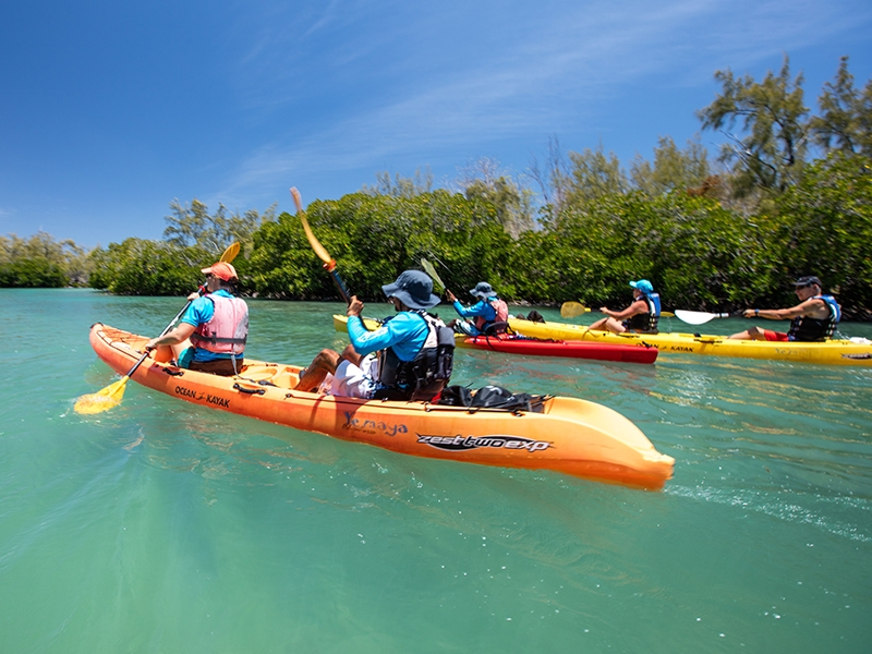 Pembury Tours - Eau Bleue Waterfalls - Mauritius - Adventure Activities - Kayak Tours