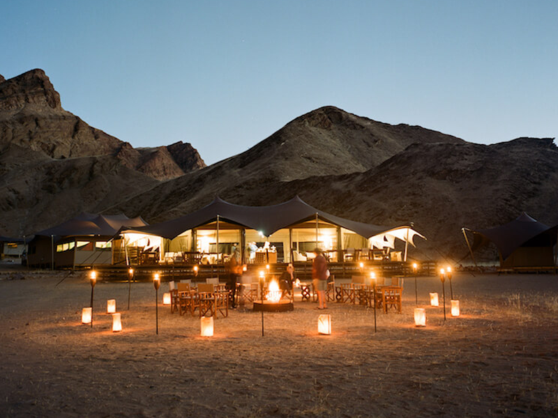 Pembury Tours - Namibia - Hoanib Valley Camp