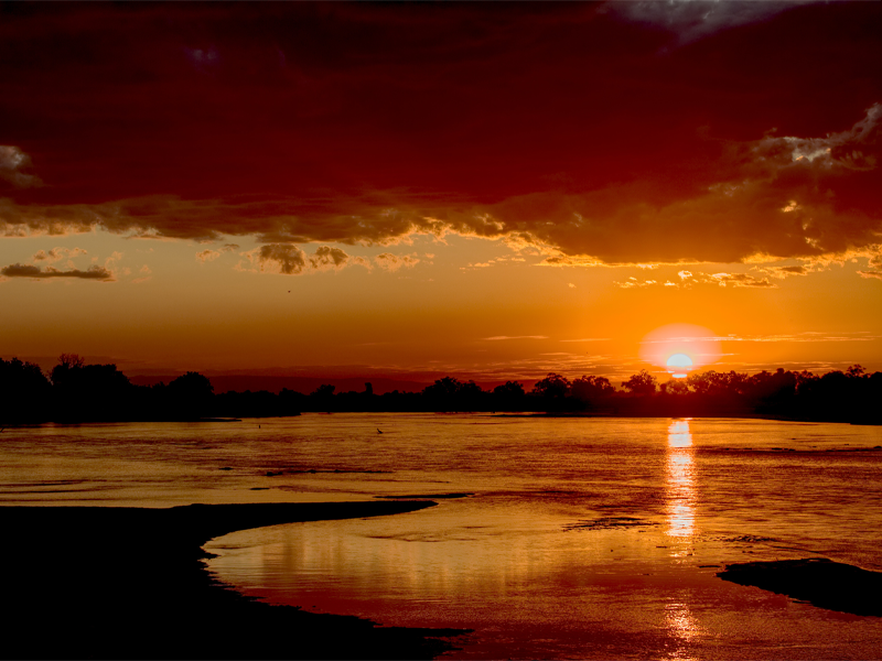 Pembury Tours-Zambia-South Luangwa-Sunset