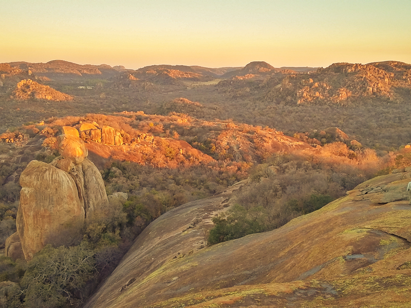 Sunset-Matobo Hills - Pembury Tours