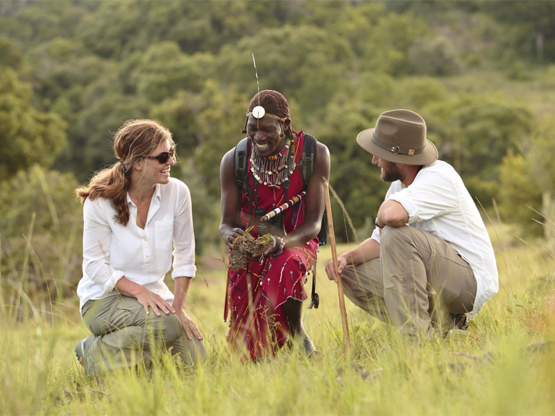 Pembury Tours -Walking-Safari-Angama-Mara-Kenya