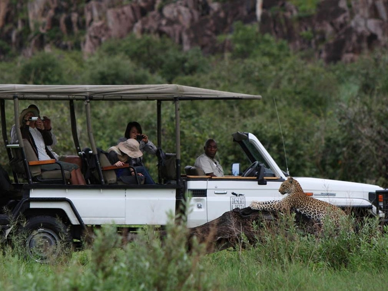 Pembury Tours - Savute Safari Lodge - Savuti National Park - Botswana - Luxury Accommodation - Game Drive Experience - Leopard