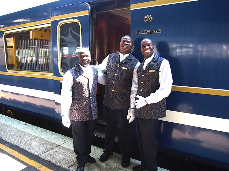 Pembury Tours - The Blue Train - Luxury Rail Accommodation - South African Train Route - Train Staff