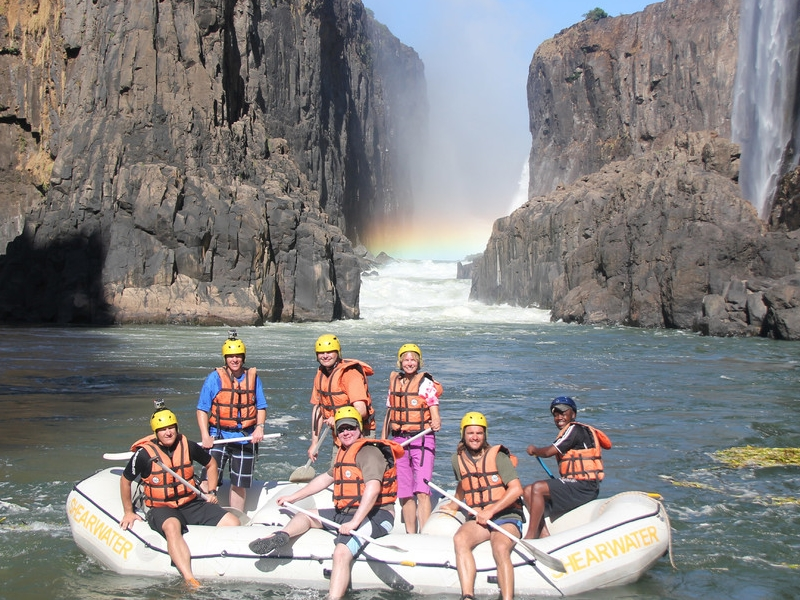 Pembury Tours - Ilala Lodge - Victoria Falls - Adventure Activities - Wild Horizons - White Water Rafting
