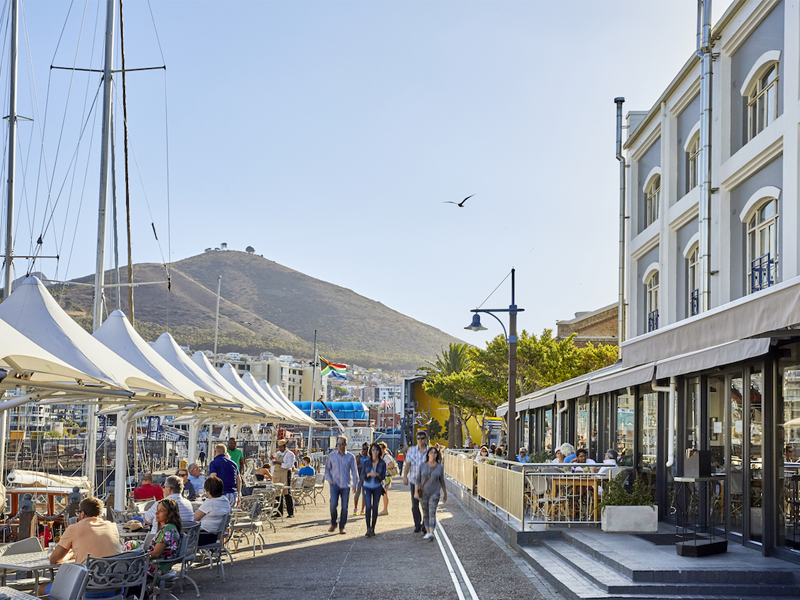 Pembury Tours - Cape Town - V&A Hotel - Outdoor Dining