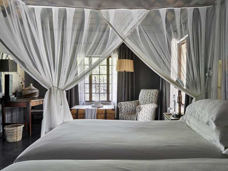 Pembury Tours - Kruger - Timbavati - Motswari Private Game Reserve - Bungalow Bedroom