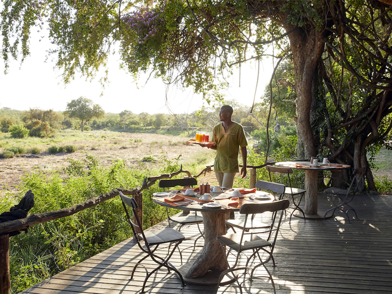 Pembury Tours - Kruger - Timbavati - Motswari Private Game Reserve - Outdoor Dining