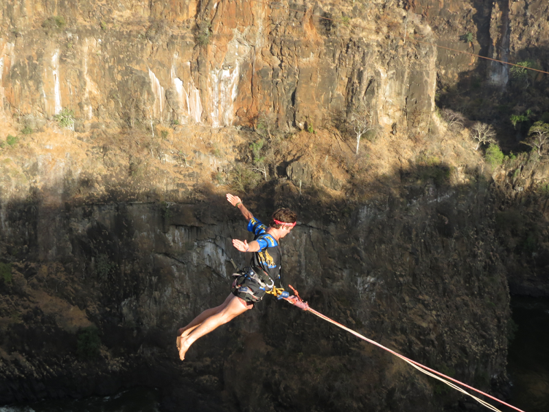 Pembury Tours - Blog - Zambia - Victoria Falls - Gorge Swing