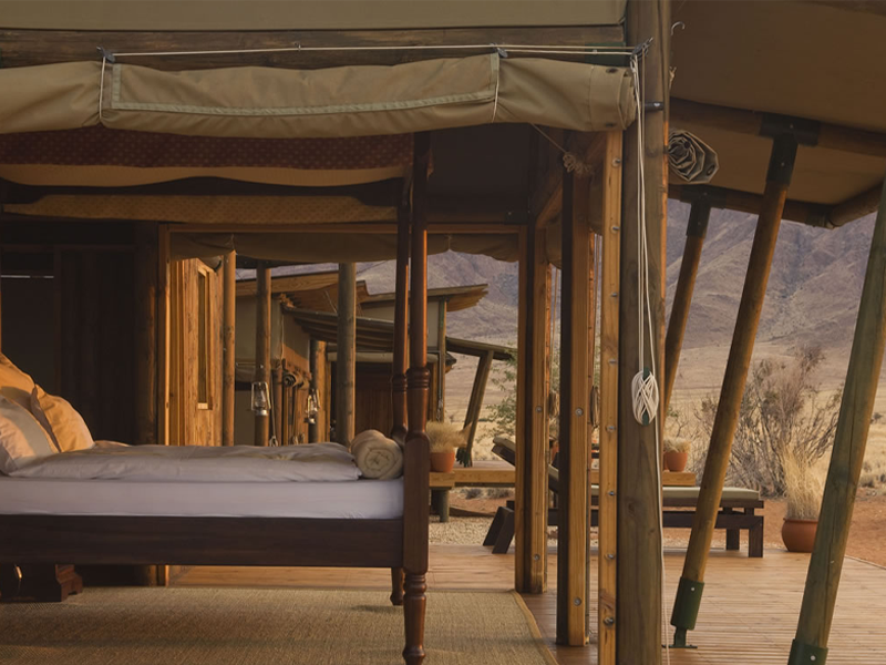 Pembury Tours - Wolwedans Private Camp - Sossusvlei - Namibia - Exclusive-Use - Accommodation - Bedroom