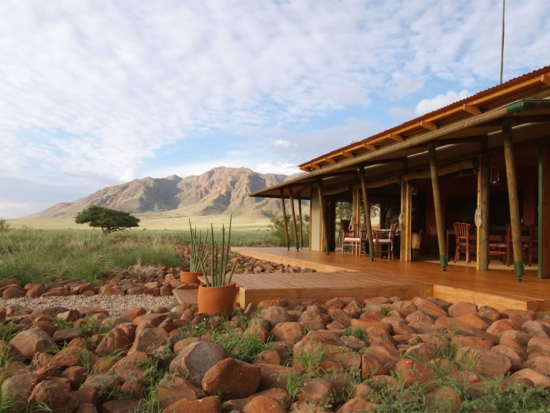 Pembury Tours - Wolwedans Private Camp - Sossusvlei - Namibia - Exclusive-Use - Accommodation - Exterior