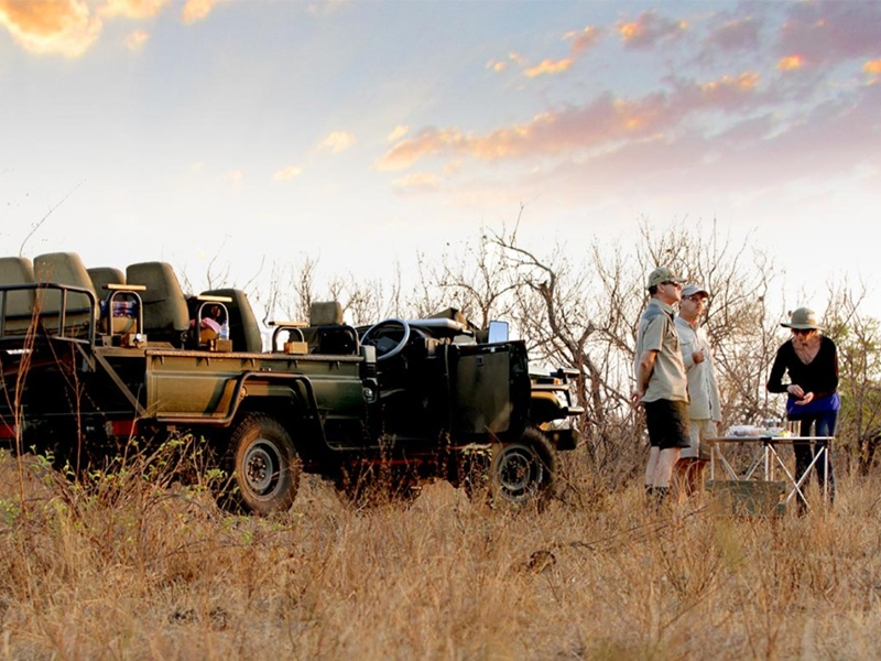 Pembury Tours - Senalala Luxury Lodge - Klaserie Game Reserve - Kruger National Park - South Africa - Game Drive Activities - Game Viewing - Sundowners